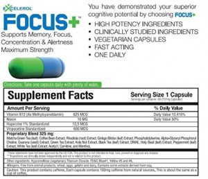 Excelerol FOCUS - facts