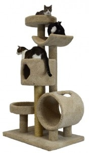 Five Tier CondoBed and Cradle Cat Tree