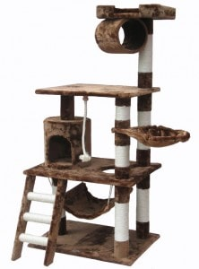 Go Pet Club Cat Tree Furniture 62 Inch High