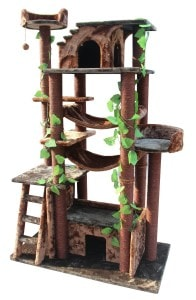 ___Kitty Mansions Amazon Cat Tree review