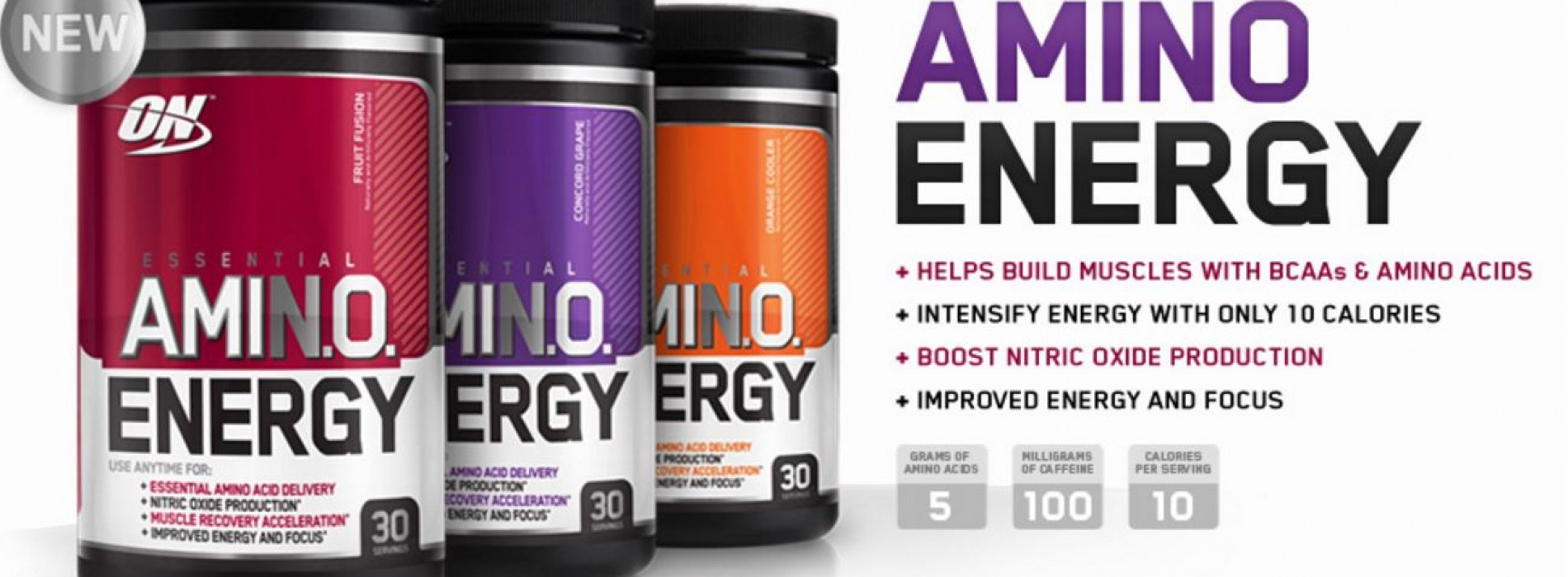 Optimum Nutrition Amino Energy – Review And Discount